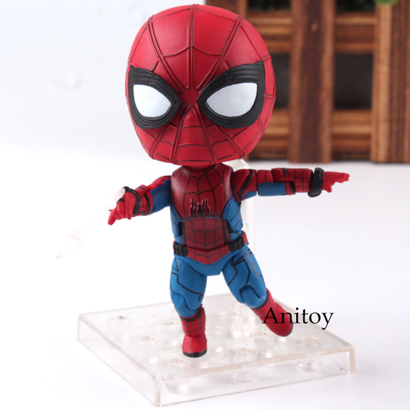 Maevel Comics Spider-Man Homecoming Figure Spiderman Action Figure Figurine Statue Doll Toys for Children Boys 9cm