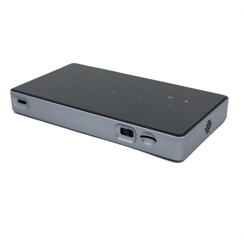 DLP Mini Projector 854 480 WIFI font b Smart b font Edition Bluetooth 4 0 HDMI