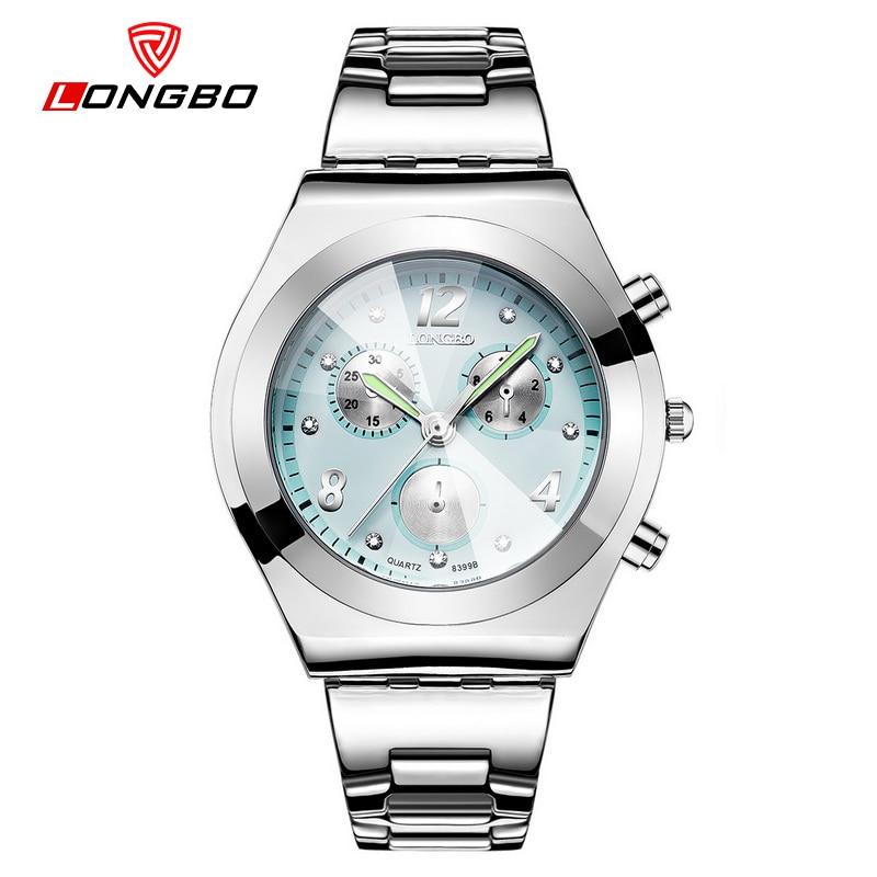 LONGBO brand luxury watch women clock wristwatches ladies fashion quartz watches relogio feminino reloj mujer 2017 saati цены онлайн