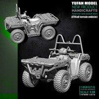 1/35 resin figure model kit ATV(All terrain vehicle) 1874