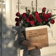 2 шт крафт-цветок бумажные мешки Роза упаковочная коробка День святого Валентина свадебные помолвки вечерние Декор букет для поставки подарочная упаковка