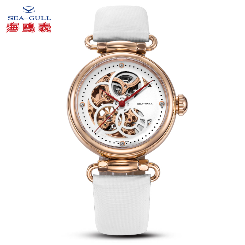 Automatic mechanical watch fashion trend ladies hollow watch female edge series - time goddess 513.634L