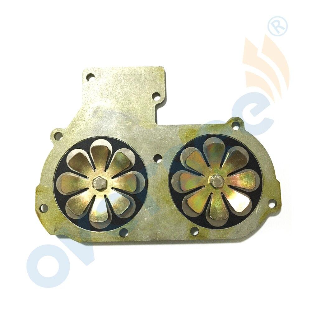 689-13610-01 ou 61N-13610-00 soupape à roseaux ASSY pour Yamaha Parsun 30HP 25HP moteur hors-bord bateau moteur pièces de rechange REED Cages