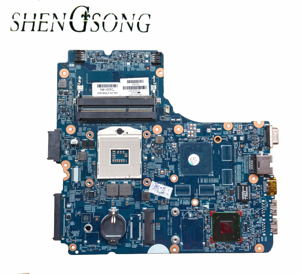 Free Shipping For HP Probook 450 440-G0 laptop motherboard 721523-001 721523-501 721523-601 system board Tested ok nokotion fiji mb 12238 1 48 4yz34 011 721523 001 laptop motherboard for hp probook 440 450 hd4000 ddr3 mainboard
