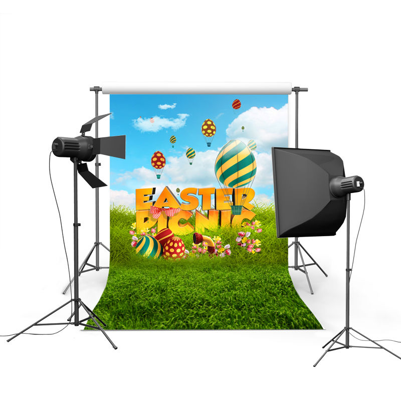 NeoBack spring easter photography backdrops eggs chiken new born baby children photographic background Easter Day P0375