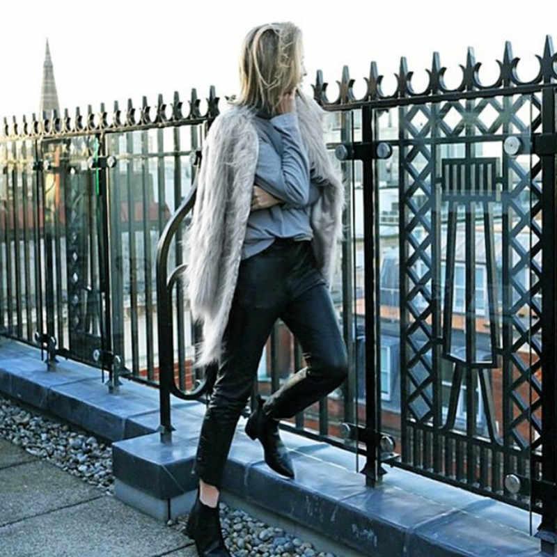 Новинка, большие размеры 4XL, женские черные пушистые пальто из искусственного меха, куртки, белые женские зимние пальто из искусственного меха, теплое пальто, женская верхняя одежда