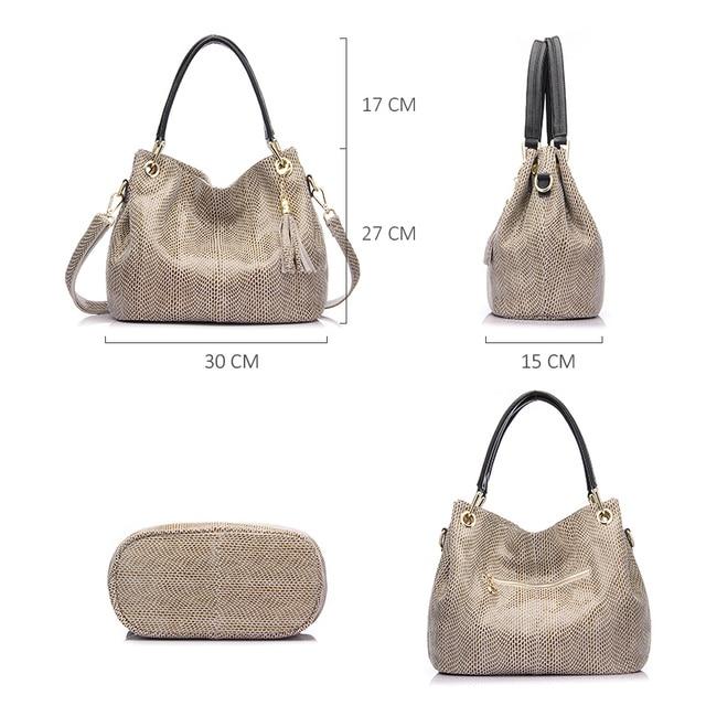 Realer woman handbags genuine leather bag female hobos shoulder crossbody bags high quality leather totes women messenger bag 4