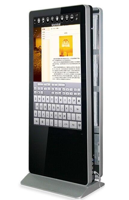 Logiciel de gestion numérique de signalisation publicitaire pour double écran LCD TFT Hd 1080 p affichage numérique interactif tactile PC sans fil