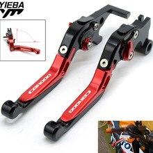 цена на Motorcycle Adjustable Folding Brake Clutch Levers for HONDA CBF1000 CBF 1000 2006 2007 2008 2009 CBF1000/A 2010 2011 2012 2013