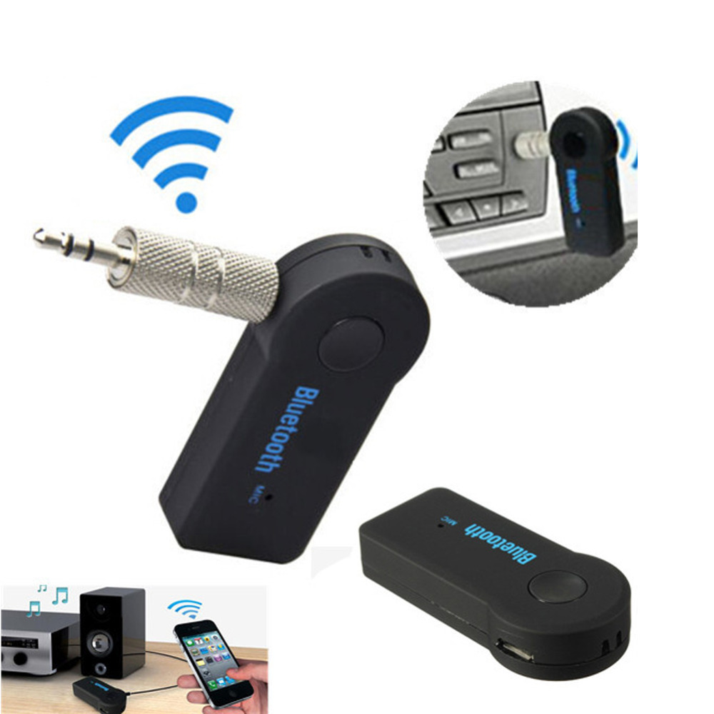 Portable Bluetooth Audio Receiver Music Stereo Rceiver Adapter for Car iphone FM Transmitter Car Kit MP3 Radio Player Bluetooth