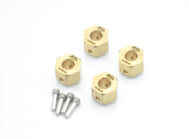 traxxas trx4 Brass counterweight extension coupler