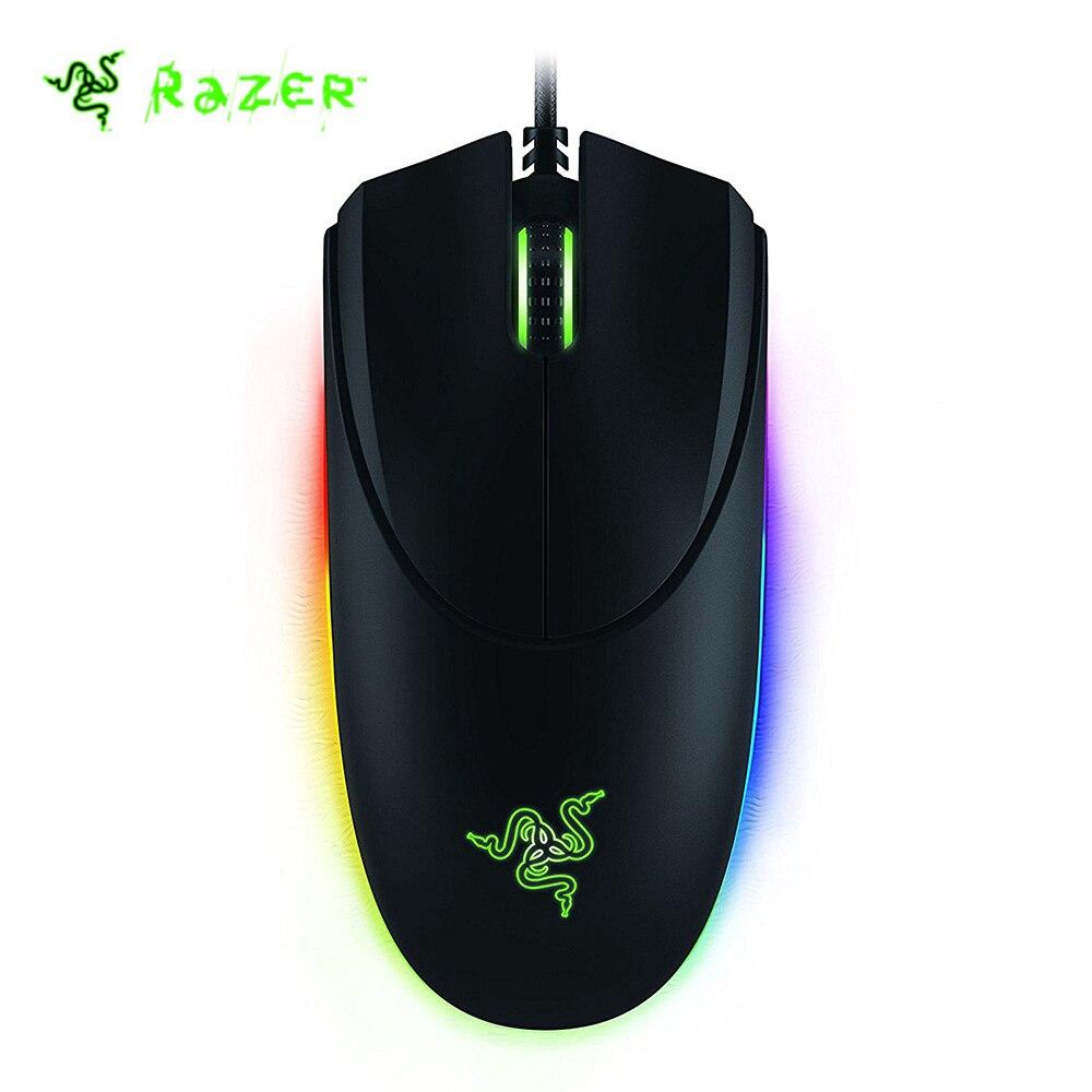 Originale Razer Diamondback 2016 Wired Gaming Mouse RGB Retroilluminazione 16000 DPI Ambidestro gaming mouse per gamer