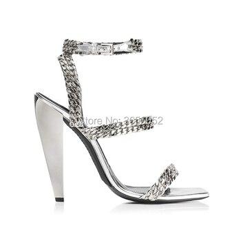 Moda Botas Altas Romanas Sandalias Zapatos Mujer Sexy De l3TFKJc1