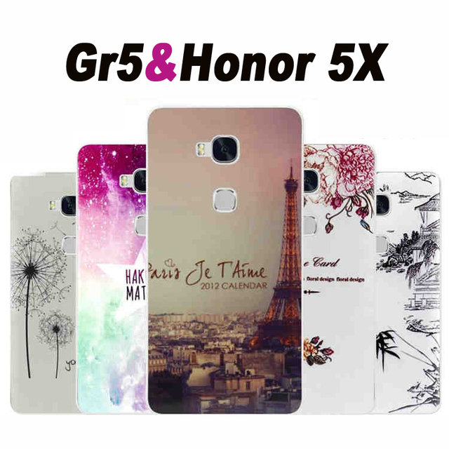 buy online 99c5f df475 US $1.99 |Huawei Gr5/honor 5x case cover TPU New wave case for Huawei gr5  case cover Cartoon tpu 5x Huawei 5x honor 5 x case cover-in Half-wrapped ...