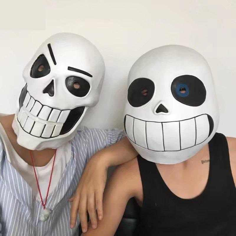 High-Q Unisex Anime Undertale Sans Papyrus Head cover Kostuums Cosplay Kostuum Maskers & Eyewear Head cover