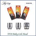Original Smok TFV8 Baby Coils V8-Q2 V8-X4 V8-T6 V8-T8 Coil Head For TFV8 Baby Tank Atomizer Beast Replacement Coil Head 5pcs