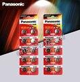 20 шт./лот Panasonic батареи 1,5 V AG10 LR1130 щелочная батарея таблеточного типа AG10 389 LR54 SR54 SR1130W 189 LR1130 аккумуляторы таблеточного типа