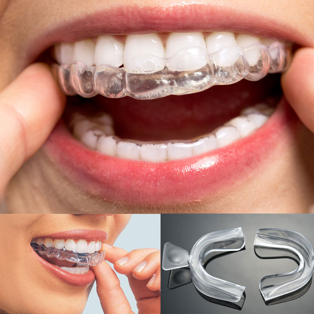 10 Pairs Thermoforming Dental Mouthguard Teeth Whitening Trays Bleaching Tooth Whitener Mouth Guard Care Oral Hygiene