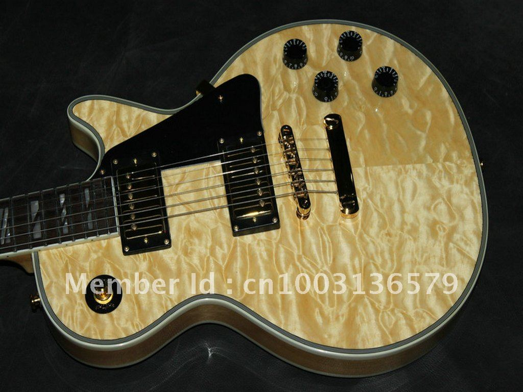 Wholesale Very Beautiful Custom Wood Color Burst Classic Electric Guitar China Guitar Factory Free Shipping