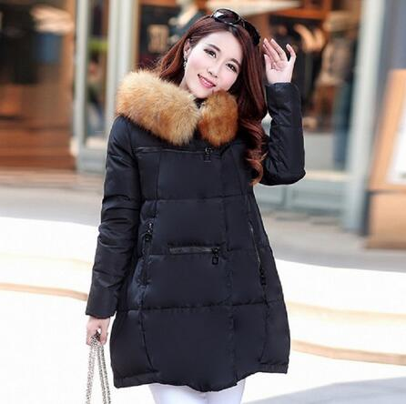 New arrivals autumn/winter women's down jacket maternity down jacket pregnancy outerwear warm clothing winter warm parkas 168 women winter coat leisure big yards hooded fur collar jacket thick warm cotton parkas new style female students overcoat ok238