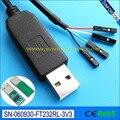 Cable usb ttl cable serie cable de depuración PROGRAMA DE LA consola cable raspberry pi ttl-232R-rpi