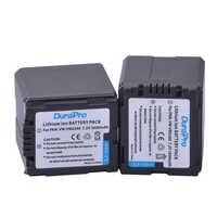 2 ピース DuraPro 7.2 ボルト 2600 mah VW-VBG260 VW VBG260 バッテリーパナソニック HDC-SD3 HDC-SD5 HDC-SD7 VDR-D310 VDR-D50 VDR-D51 SDR-H200