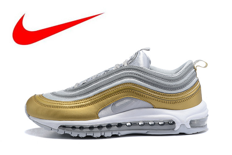 brand new 11949 bb1a6 New Official Original Nike Air Max 97 OG 2018 RELEASE Men s Running  Shoes,Official New Arrival Outdoor Sports Shoes AQ4137-001