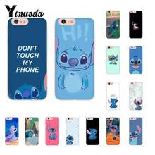 Yinuoda Cute Cartoon Stich Soft Silicone TPU Phone Cover for iPhone X XSMAX 6 6s 7 7plus 8 8Plus 5 5S SE XR 10 11 11pro 11promax(China)