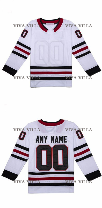 Hockey Jersey Cheap Men High Quality Stitched Logos Customized Any Name Any Number Hockey Jerseys S-4XL Free Shipping meilunna christmas black friday customize movie hockey jerseys mighty ducks 2 team rival iceland team 9 gunnar stahl jersey