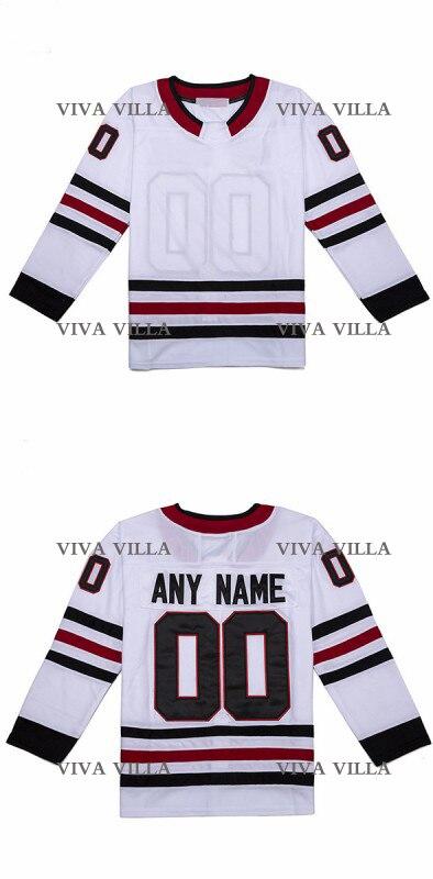Hockey Jersey Cheap Men High Quality Stitched Logos Customized Any Name Any Number Hockey Jerseys S-4XL Free Shipping ice hockey jerseys 33 44 s 4xl men s hockey jerseys