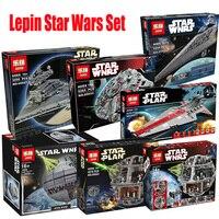 Lepin Star Wars 05026 05027 05028 05033 05035 05063 05077 Model Building Blocks Bricks Toys Compatible LegoINGlys 10143 75159
