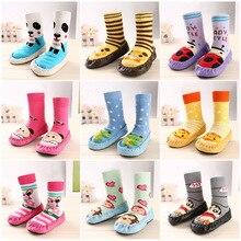 Infant Socks Girls Baby Boys Winter Children Warm Cat Floor Unisex for Slip-Resistant