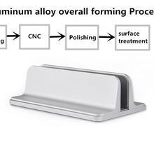 Алюминиевый сплав кронштейн книжная полка вертикальная подставка для хранения ноутбука держатель Поддержка