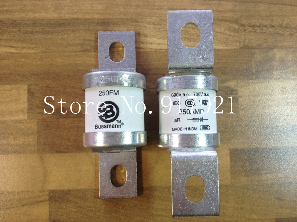 [ZOB] The United States Bussmann 250FM 250A690V BUSS fuse fuse original authentic --2pcs/lot [zob] the united states bussmann 250nh1 g690 250a buss 690v original fuse 2pcs lot