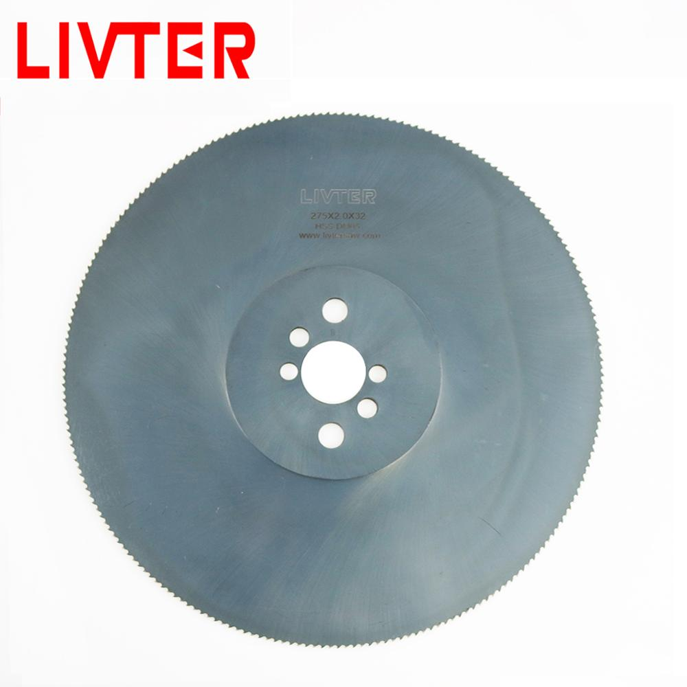 LIVTER HSS Hss Circular Disc Saw Blade W5 Material For Cutting Strong Iron Not Steel Slow Cutting Speed