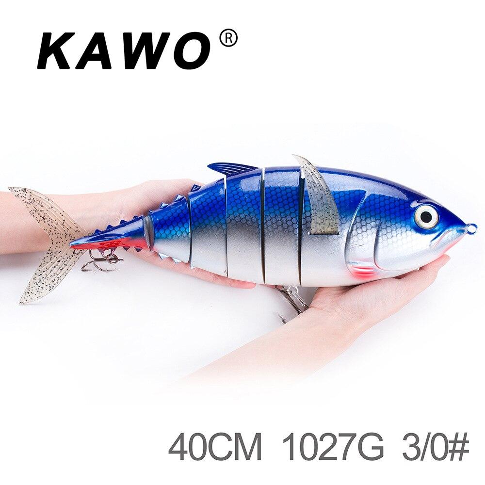1 PC 40 cm en plastique grand leurre de pêche appât appât dur 1027g appâts artificiels engins de pêche outils accessoires de pêche