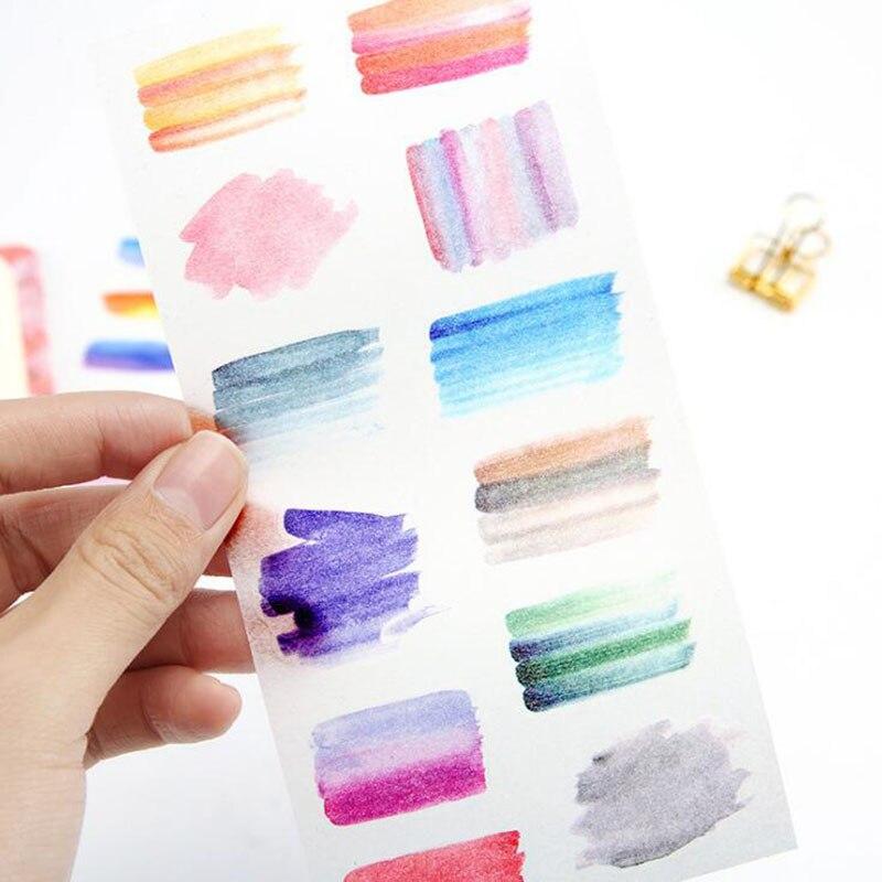 6/bag Heart Is Still Transparent Sticker/students Stationery Art Personality Creative Diy Diary Album Decoration Sticker