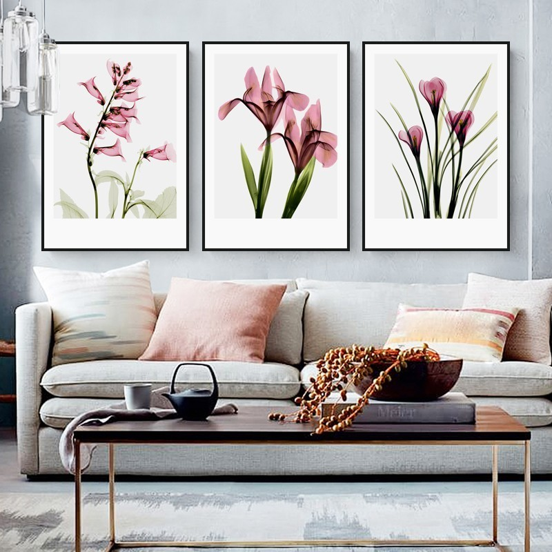 Постеры и картины для интерьера цветы