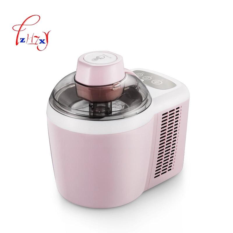 ICM-700A-1 Home use automatic ice cream machine 600ML DIY fruit ice cream machine 600ML ice cream machine 220V 90W 1PC цена