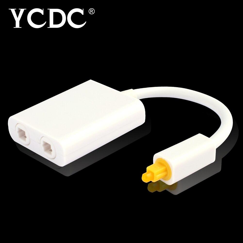 YCDC 2/V/ías Toslink Divisor