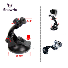 go pro Car Suction Cup Mount Holder Tripod Adapter For Gopro Hero 4 3+ 3 sjcam sj4000 aluminum xiaomi yi Accessories GP61
