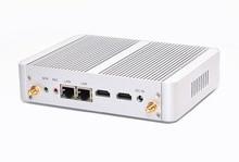 14nm 4 ядра N3150 процессора 2 Ethernet без вентилятора WI-FI ультра-низким энергопотреблением настольных мини-ПК