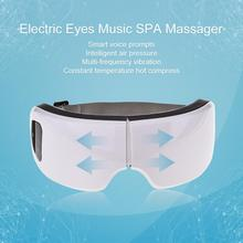 Eyes Care Tool 6S Wireless USB Rechargeable Bluetooth Foldable Eye Massager Adjustable Air Pressure Protector Christmas Gift