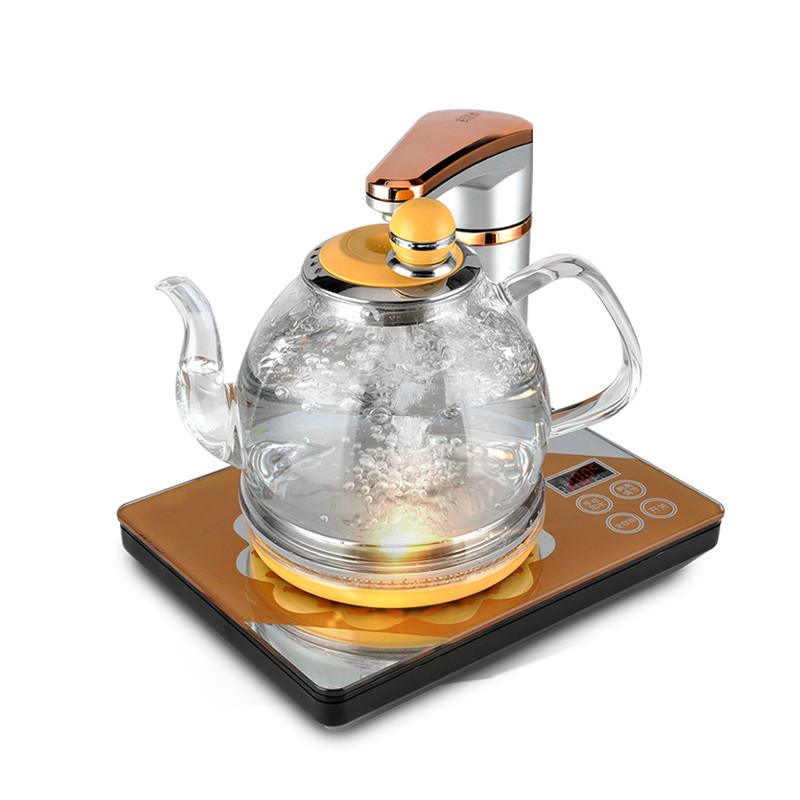 Full automatic power off the water heater kettle brewing tea set with electric 1 5l electric kettle automatic power off glass kettle wasserkocher high quality water heater kettle