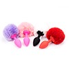 Leten 4pcs/set Silicone Anal Plug, Anal Balls, butt plug, Anal Dildo with package well Sex Toys Adult Products for Women and Men 21