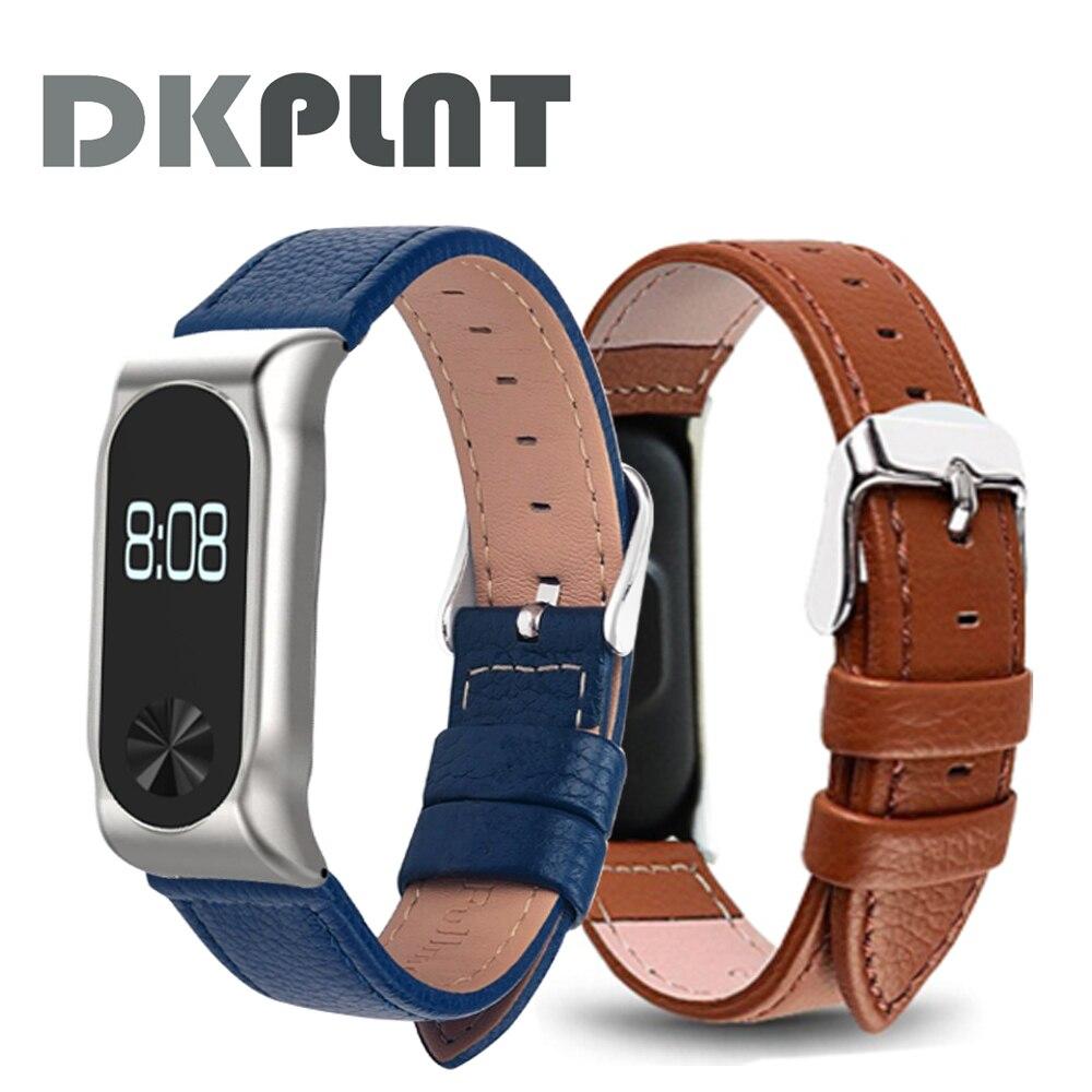 Hot sale Colorful Leather Xiaomi Mi Band 2 Mi Band 2 Bracelet Stainless Bracelet MiBand 2 Wristbands Replacement Wrist Strap все цены