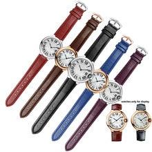 Farbe gestreiften band mit pin schnalle qualität echten lederband ersatz Cartier armband weiblichen armband