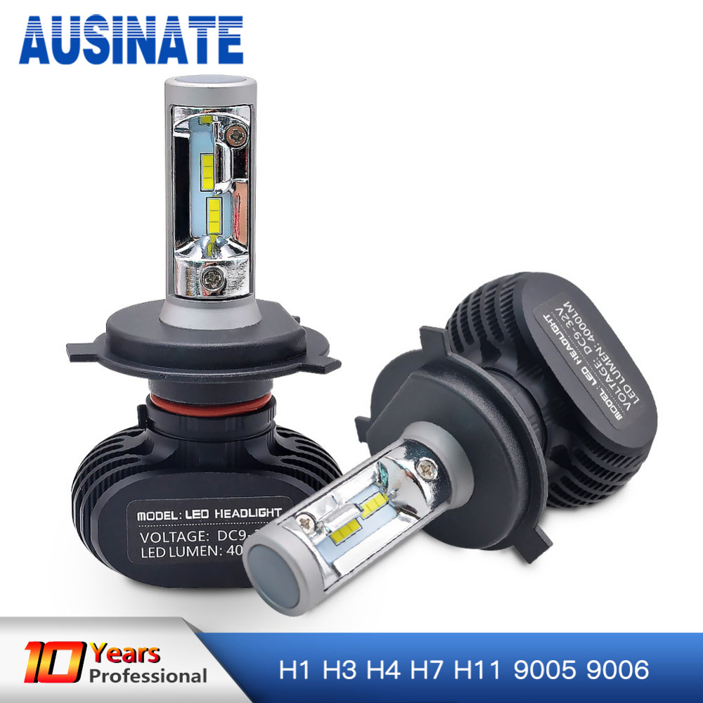 H7 LED H4 H1 H3 H8 H9 H11 9006 9005 Auto Auto Scheinwerfer Birne CSP Chip 50 watt 8000LM Automobil scheinwerfer Nebel Licht 6500 karat Led Lampe 12 v