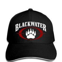 ce37050527298 2018 Gilden nueva gorra de béisbol Blackwater Logo seguridad mundial  militares agua negro sombrero(China
