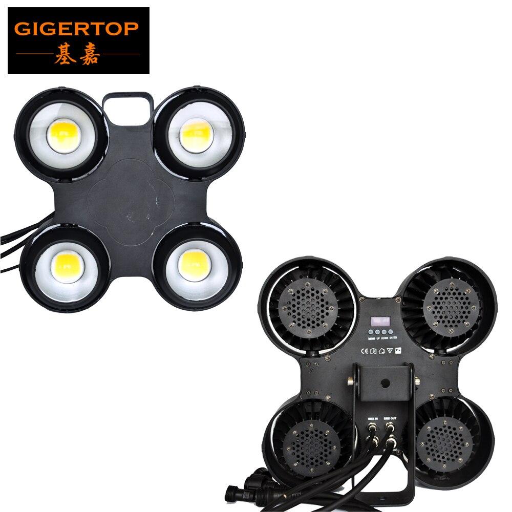 Éclairage de scène Gigertop LED étanche Blinder d'audience projecteur de lumière de scène à 4 têtes